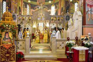 Εορτή του Αγίου Σπυρίδωνος στη Μητρόπολη Λαγκαδά (ΦΩΤΟ)