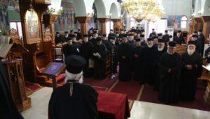 Ιερατική Σύναξη στην Ιερά Μητρόπολη Παραμυθίας