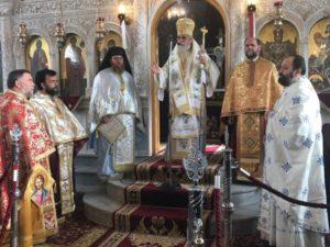 Η εορτή του ηρωϊκού Ιερομάρτυρος Αγίου Ελευθερίου στον Πύργο (ΦΩΤΟ)