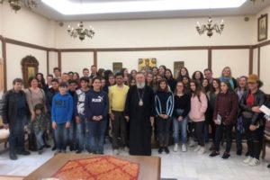 Επίσκεψη σχολείων στον Χαλκίδος Χρυσόστομο (ΦΩΤΟ)