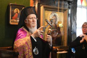 Οικ.Πατριάρχης: «Απαράδεκτη η διακοπή κοινωνίας ως μοχλός εξαναγκασμού» (ΦΩΤΟ)