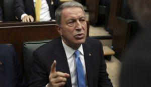 Τουρκία: Νέες προκλητικές δηλώσεις του υπουργού Αμυνας