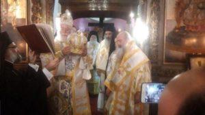 Ιεράρχες της Εκκλησίας της Ελλάδος στη Χειροτονία του Μητροπολίτη Κανάγκας (ΦΩΤΟ)