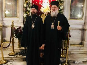 Συνάντηση Νεκταρίου-Ιλαρίωνα και η θέση για την Ουκρανία (ΦΩΤΟ)