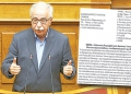 Ο υπουργός Παιδείας, Έρευνας και Θρησκευμάτων Κώστας Γαβρόγλου μιλάει από το βήμα της Ολομέλειας της Βουλής στη συζήτηση για τον Προϋπολογισμό του έτους 2019, Αθήνα, Δευτέρα 17 Δεκεμβρίου 2018.  ΑΠΕ-ΜΠΕ/ΑΠΕ-ΜΠΕ/ΟΡΕΣΤΗΣ ΠΑΝΑΓΙΩΤΟΥ