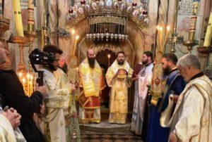 Στους Αγίους Τόπους ο Βολοκολάμσκ Ιλαρίωνας (ΦΩΤΟ)