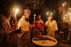 Η Μονή Καρακάλλου εόρτασε τον Αγιο Γεδεών (ΦΩΤΟ)