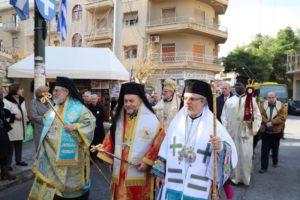 Θεία Λειτουργία και Λιτανεία στο Μετόχι του Πατριαρχείου Αλεξανδρείας στην Αθήνα (ΦΩΤΟ)