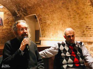 Ο Ηλίας Λιαμής σε εκδήλωση της Μητρόπολης Κερκύρας (ΦΩΤΟ)