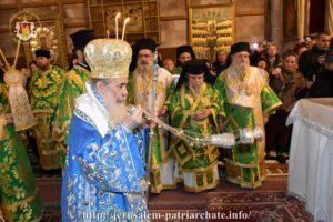 Ιεροσόλυμα: Μεγαλοπρέπεια και κατάνυξη στα Θεοφάνεια στους Αγίους Τόπους
