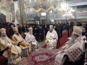 Παρουσία Ιεραρχών και πιστών τα ονομαστήρια του Ιωαννίνων Μαξίμου (ΦΩΤΟ)