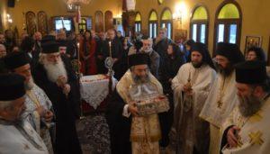 Υποδοχή Ιερού Λειψάνου του Αγίου Λουκά του Ιατρού στο Γύθειο