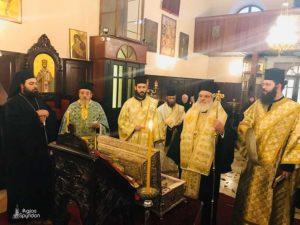 Η εορτή του Αγίου Αρσενίου στην Ι.Μ. Κερκύρας (ΦΩΤΟ)