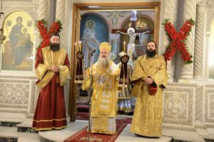 Εορτάσθηκε η Επέτειος Επανακομιδής του Σταυρού του Αγίου Ανδρέα στην Πάτρα