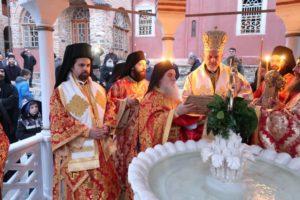 Το Αγιο Ορος εόρτασε τα Θεοφάνεια- Ο Γαλλίας Εμμανουήλ στην Ι. Μονή Παντοκράτορος