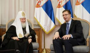 Πρόεδρος Σερβίας: Ρωσική και Σερβική Εκκλησία πάντα μαζί