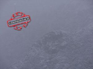 Σφοδρή χιονόπτωση στο Άγιον Όρος- Οδηγίες για προσκυνητές (ΦΩΤΟ)