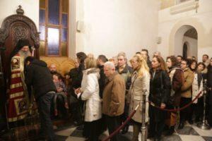Μετόχι Σιμωνόπετρας: Πλήθη κόσμου για την εορτή του Αγίου Χαραλάμπους (ΦΩΤΟ)
