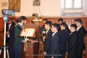 Ο εορτασμός των Τριών Ιεραρχών στο Πατριαρχείο Ιεροσολύμων
