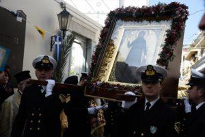 Η Αθήνα εόρτασε την Αγία Φιλοθέη