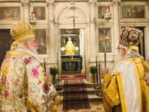 Κέρκυρα: Δισαρχιερατικό Συλλείτουργο στο Προσκύνημα του Αγίου Σπυρίδωνος