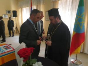 Ο Μητροπολίτης Αξώμης συναντήθηκε με Πρέσβεις στην Αιθιοπία (ΦΩΤΟ)