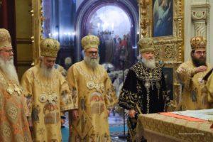 Μόσχα:  Πατριαρχικό συλλείτουργο για την 10ετή επέτειο του Κυρίλλου