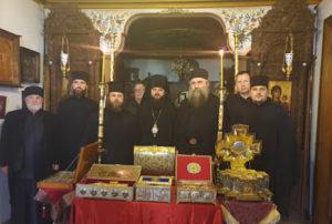 ΑΓΙΟ ΟΡΟΣ: Στο αντιπροσωπείο της Μ. Εσφιγμένου η ουκρανική αποστολή