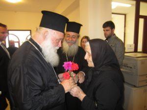 Ο Αρχιεπίσκοπος στο 40νθήμερο μνημόσυνο της μητρός του Φθιώτιδος Νικολάου