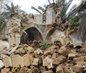 Κύπρος: Κατέρρευσε καμπαναριό Ναού στην πράσινη γραμμή