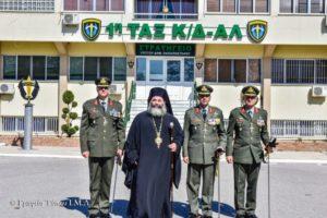 Ο Λαγκαδά Ιωάννης στην αλλαγή διοίκηση στην Ταξιαρχία Αλεξιπτωτιστών (ΦΩΤΟ)