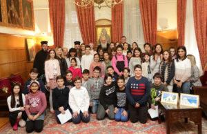 Οι συμβουλές του Αρχιεπισκόπου σε μικρούς μαθητές (ΦΩΤΟ)