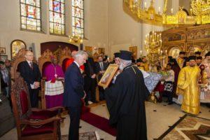 Ο Βασιλιάς του Βελγίου παρών στην Κυριακή της Ορθοδοξίας στην Βρυξέλλες (ΦΩΤΟ)