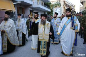 Αρχιερατικός Εσπερινός & Λιτανεία Παναγίας Ευαγγελίστριας Χίου