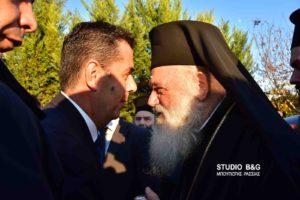 Ναύπλιο: Ο εορτασμός του Ευαγγελισμού παρουσία του Αρχιεπισκόπου