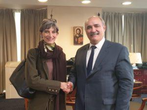 «Συνεργασία Ελλάδας-Ην. Βασιλείου για την προστασία των Xριστιανών της Μέσης Ανατολής»