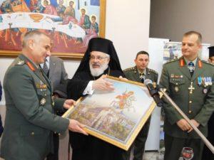 Ο Διδυμοτείχου Δαμασκηνός στις αλλαγές φρουράς στρατιωτικών διοικητών (ΦΩΤΟ)