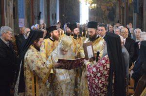 Χειροθεσία Αρχιδιακόνου την Κυριακή της Ορθοδοξίας στην Εδεσσα (ΦΩΤΟ)