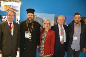 Στη Διεθνή Εκεθεση Τουρισμού στην Μόσχα η Εκκλησίας της Ελλάδος (ΦΩΤΟ)