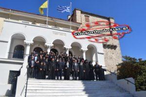 Με βυζαντινή μεγαλοπρέπεια το Αγιο Ορος εόρτασε το 1821