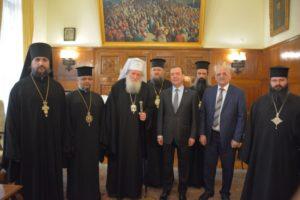 Συνάντηση του Βουλγαρίας Νεόφυτου με τον Ρώσο Πρωθυπουργό (ΒΙΝΤΕΟ)