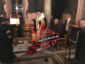 Οι Χαιρετισμοί της Θεοτόκου στην Ιερά Μονή Πετράκη (ΦΩΤΟ)
