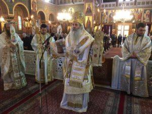 Κυριακή της Ορθοδοξίας στην Αγία Τριάδα Πειραιώς (ΦΩΤΟ)