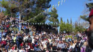 Μονή της Αγίας Λαύρας: Χιλιάδες πιστοί για τον εορτασμό της 25ης Μαρτίου