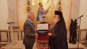 Στον Αλεξανδρείας Θεόδωρο ο Ελληνας υπουργός Εθνικής Αμυνας (ΦΩΤΟ)