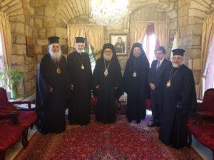 Αντιπροσωπεία του Οικουμ. Πατριαρχείου με επικεφαλής τον Γαλλίας στο Πατριαρχείο Αντιοχείας