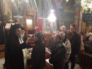 Ιερό Ευχέλαιο στο Στεφανοβίκειο από τον Λαρίσης Ιερώνυμο (ΦΩΤΟ)