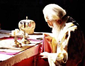Κάποτε ένας Θεοσεβής Ιερέας Λειτουργούσε του Αγίου Δημητρίου…