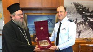 Με τον αρχηγό ΓΕΑ συναντήθηκε ο Λαρίσης Ιερώνυμος (ΦΩΤΟ)