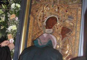 Η Παναγία του Τιχβίν στην Αγία Βαρβάρα Αττικής